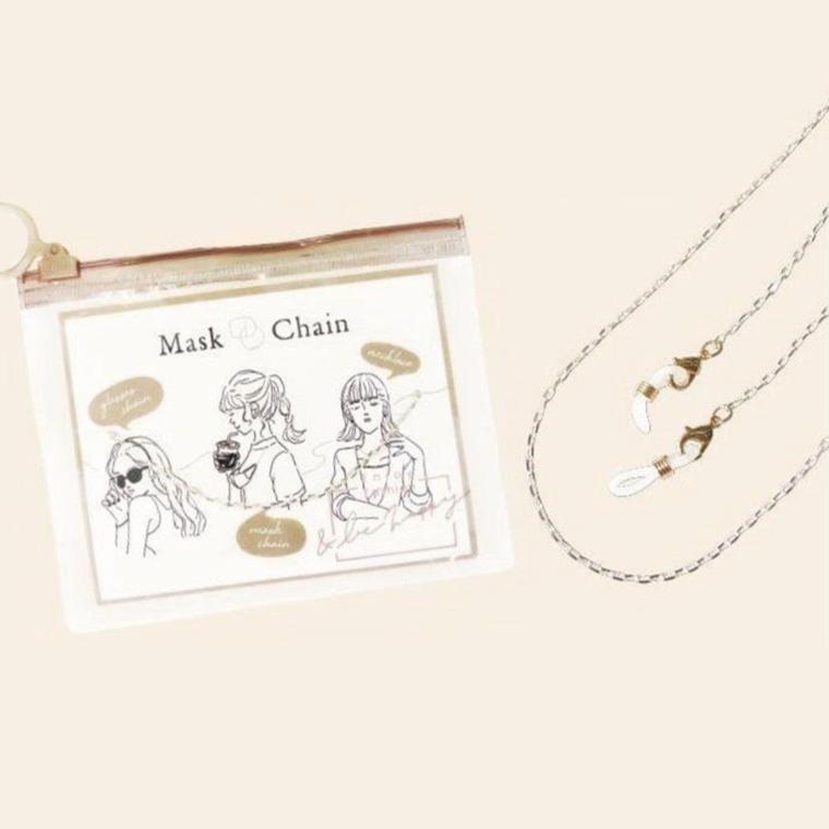写真:雑貨館インキューブ Mask chain
