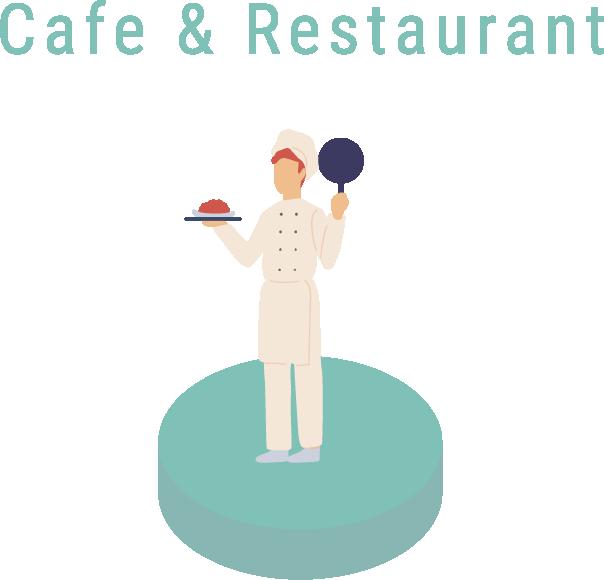 アイコン:Cafe & Restaurant