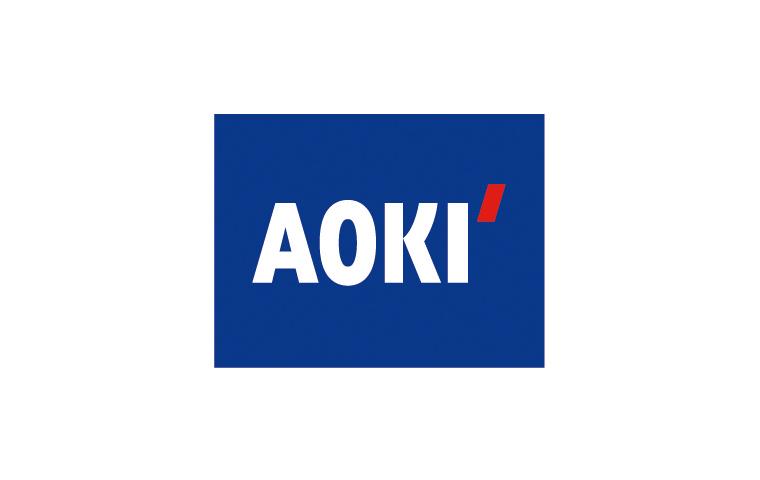 ロゴ:AOKI