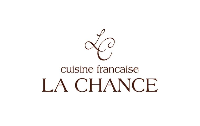ロゴ:cuisine francaise LA CHANCE