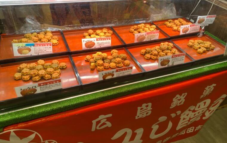 アイキャッチ:ミニもみじ饅頭販売