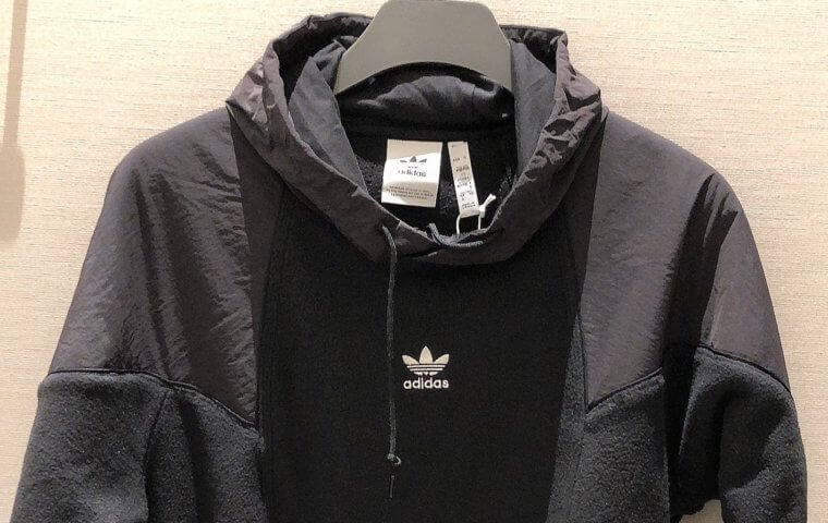 アイキャッチ:NEW ~『adidas M BIG TRF MIX HOODIE』~}